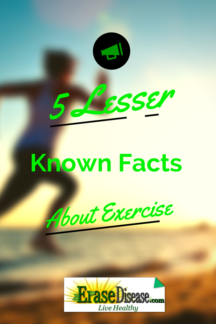 5 Lesser Known Facts Of Benefits Of Exercise!
