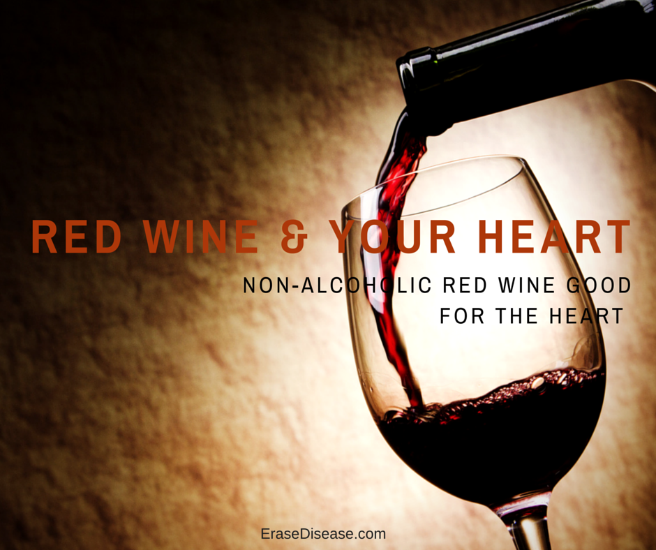 red wine & your heart