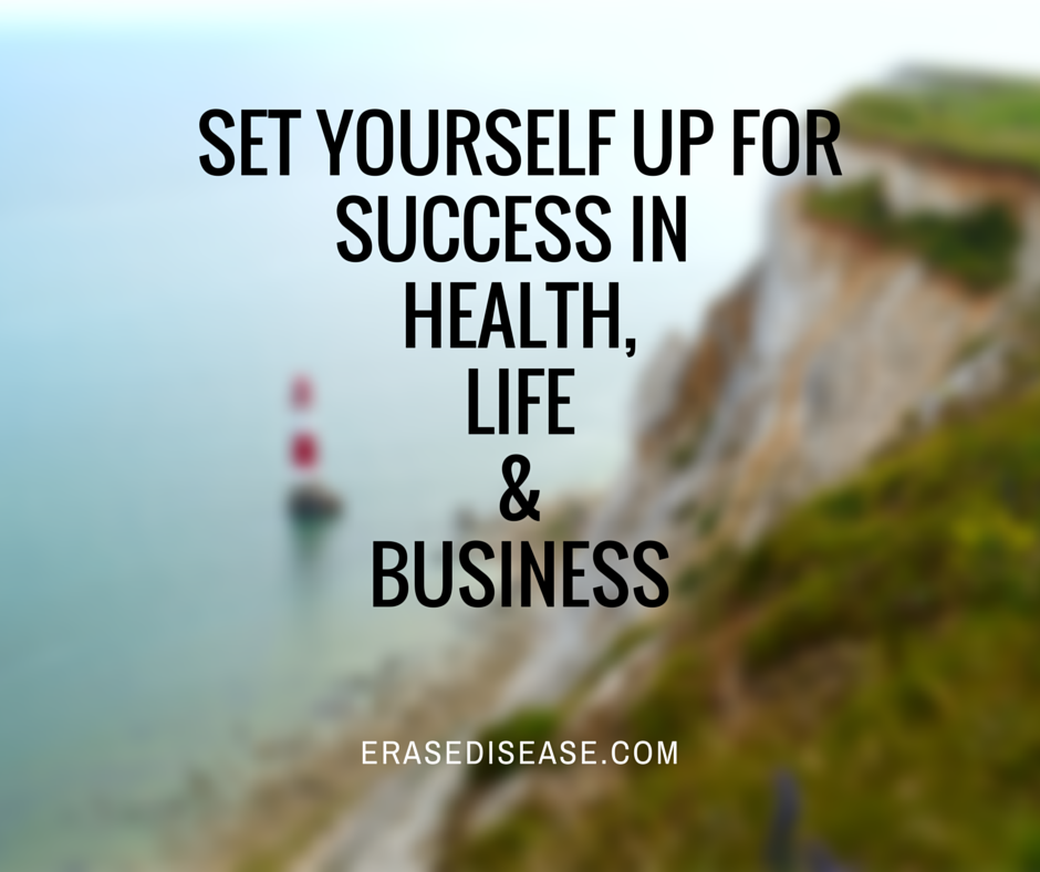 Set yourself up fo rsuccess in health an
