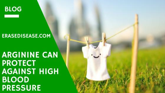 Arginine Can Protect Against High Blood Pressure