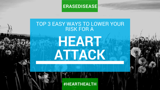 Top 3 Easy Ways to Lower Your Risk of a Heart Attack
