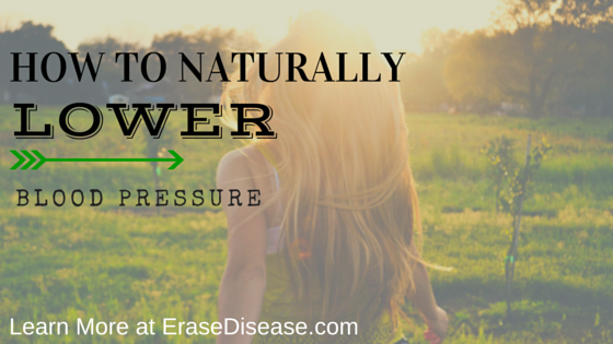 naturally lower blood pressure
