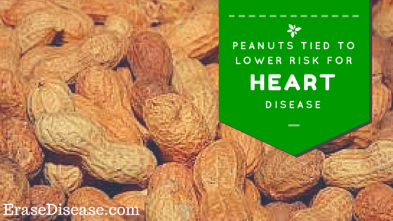 peanuts tied to lower risk for heart disease