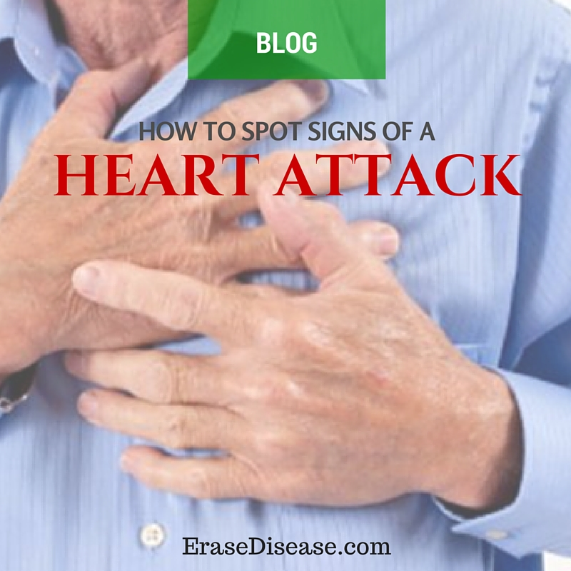 how to spot signs of a heart attack