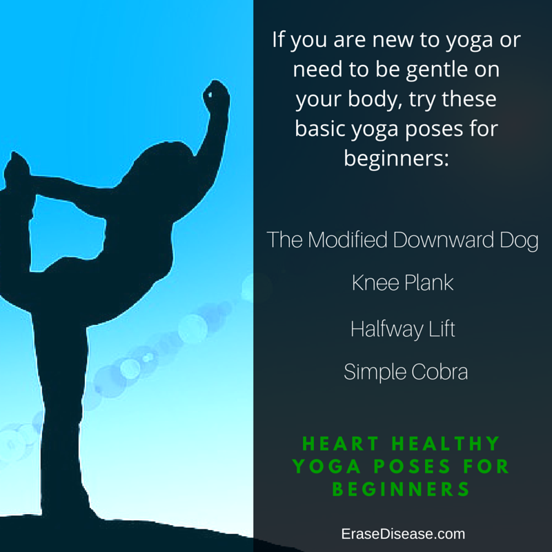 Heart Healthy Yoga Poses for Beginners